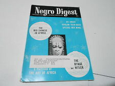DEC 1963 NEGRO DIGEST magazine - RED CHINESE IN AFRICA