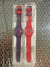 SWATCH SPECIAL London2012 Paralympic Volunteer gz272 + SPECIAL GAMES MAKER gz273