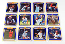 Lot of (12) Different Foster's Sporting Greats Golf & Tennis Coasters