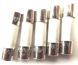 Fuse 5a  20mm HBC Antisurge/ Time delay T5A H 250v Ceramic 0215005.MXP  x5pcs