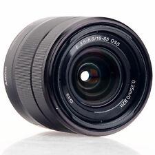 Sony E 18-55mm F3.5-6.3 OSS Standard Mirrorless Zoom Lens Black SEL1855/B