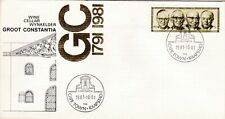 South Africa 1981 Groot Constantia Cover Unaddressed VGC