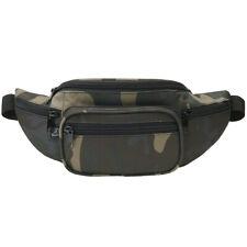 Brandit Waist Bag Airsoft Paintball Pack Expedition Hiking Mens Sack Dark Camo