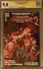 "Amazing Spider-Man #800__CGC 9.8 SS__Signed by Stan ""The Man"" Lee and Dan Slott"