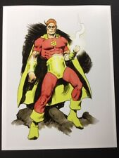 IT'S HYPERION! Golden Age Superhero Art SIGNED Print by Mike Hoffman!
