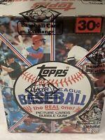 1981 Topps Baseball Wax Box BBCE SEALED AUTH Unopened Baines Raines RC