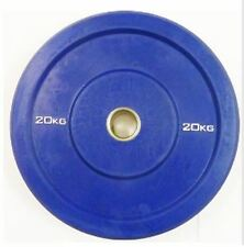 "Ironman Olympic 2"" Solid Rubber Bumper Plate 20KG - Weightlifting Disc"