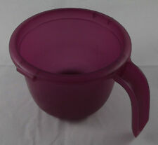 Tupperware Micro Porridge Maker 550 ML Porridge Cook in microwave Purple NEW
