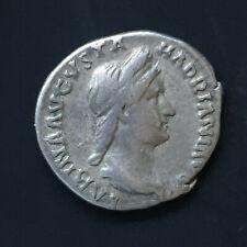 Sabina AR Denarius, Vesta reverse