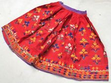 Embroidery Kuchi Belly Dance Tribal India Ethnic Boho Gypsy Banjara Rabari Skirt