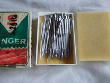 102 Singer Industrial class 7 Sewing Machine Needles 5211-01 7X1 -21 130/21 Rare
