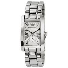 Emporio Armani Silver Quartz Analog Women's Watch AR0145
