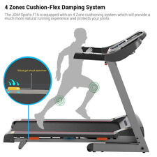 3.0 HP Running Machine Incline Treadmill LED Display APP Bluetooth MP3 Control