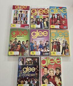 Glee Dvd Season 1,2,3,4 - Glee The Concert And Glee Christmas