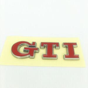 1PC - Rear Trunk Badge RED Emblem Fit VW Volkswagen Golf Passat GTI MK5 MarkV