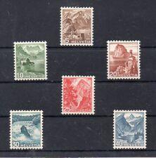Suiza Paisajes Naturales Serie del año 1948 (DQ-805)