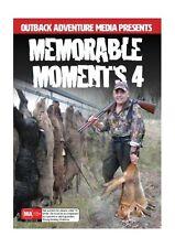 NEW Hunting DVD - Memorable Moments 4 - Pigs, Scrub Bulls, Black Bear, Goats Fox