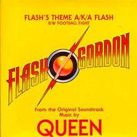 CD Single QUEEN Soundtrack Flash GordonFlash's theme  USA 2-track CARD sleeve
