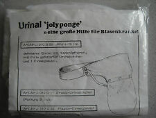 Jolyponge Urinal Windelhose für Erwachsene 1960er Jahre Gr. 5 Vintage