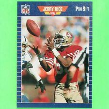 JERRY RICE  1989  PRO SET TEST  ...VERY RARE...  #2   San Francisco 49ers