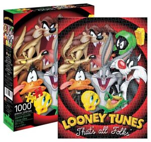 Looney Tunes - Jigsaw Puzzles 1000 Piece Adult Kids Puzzle Home Decor Gift Art