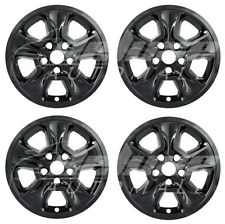 "17"" Black Wheel Skins / Hubcaps FOR 2014 2015 2016 2017 2018 Jeep Grand Cherokee"