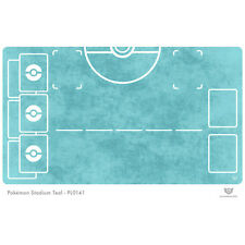 Pokemon Stadium Teal - Pokemon Play Mat (PL0141)