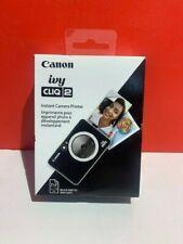 Canon  Ivy Cliq 2 Instant Film Camera Black 4520C004 SEALED