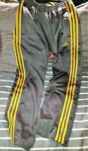 Adidas Vintage bas de Survetement pantalon Jogging Boutons Pression M Top !