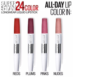 Maybelline SuperStay 24h Dual Ended 9ml Lipstick - Choose Between 21 Varieties