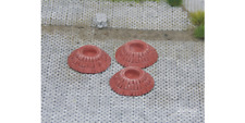 HO Scale Scenery - Red Brick Tree Ring