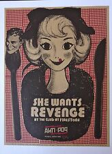 She Wants Revenge - Live at Anti-Pop Festival 2006 - Tour Advertising Poster - 1
