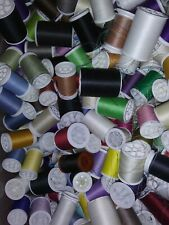 Coats & Clark XP Polyester Sewing Thread Lot 3 spools 250 yd EA ASSORTED MIXED