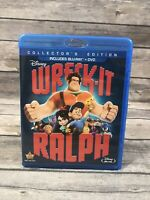 Wreck-It Ralph Collector's Edition (Blu-ray Diaz Only *No DVD) Disney Animated