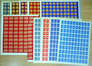100 x Rumänien 1961 Mi. 2010-19 A ** MNH Olympiade Olympic Games 900,-- €  /1x
