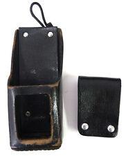 Motorola Xts5000 Xts3000 Xts2500 Portable Radio Leather Holster With Belt Loop