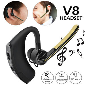 Wireless Bluetooth Handsfree Earphone Earbud Headset V8 Headphone