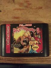 Splatterhouse 3 (Sega Genesis, 1993) Authentic! Good Condition