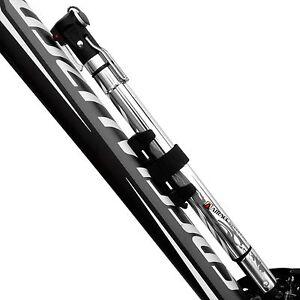 Airace Bike Mini Floor Pump Portable Reversible Presta, Schrader&Dunlop 150PSI