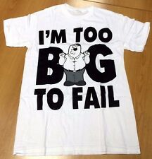 Family Guy Peter Griffin Licensed Screen Printed T-Shirt - Men's Size Medium