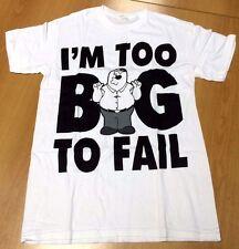 Family Guy Peter Griffin con licencia de pantalla Printed T-Shirt-para Hombres Talla Grande