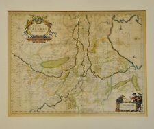 Jansson: Ducatus Geldriae. Altkolorierte Karte um 1680