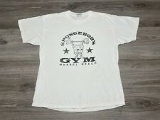 New listing Vintage 2002 SpongeBob SquarePants Nickelodeon Cartoon Gym T-Shirt Adult Size L