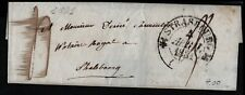 France 1831 Small Wrapper to Strasbourg Postal History