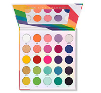 Morphe 25L Live In Color 25 Shade Palette FREE SHIP 100% AUTHENTIC!!!!!