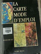 La Carte, Mode D'emploi by Roger Brunet (1987, Book, Illustrated)