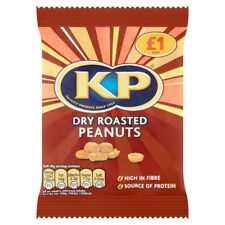 12 X KP DRY ROASTED PEANUTS £1 70g | 12 PACK BUNDLE