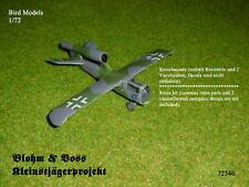 Blohm & Voss Kleinstjägerprojekt   1/72 Bird Models Resinbausatz / resin kit