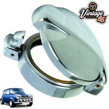 Klassisch Austin Mini Tankdeckel Benzin Einfüllstutzen Abdeckung Chrom Klappe