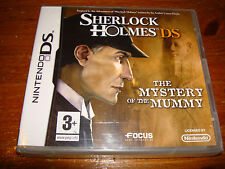 SHERLOCK HOLMES MYSTERY OF THE MUMMY ** NEW & SEALED **  Nintendo Ds Game